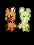 [ Fanart ] Two Teddy