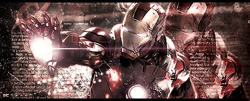 The Avengers - Iron Man by DarkComeback