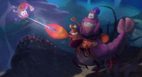 Gunnar the Pistol shrimp