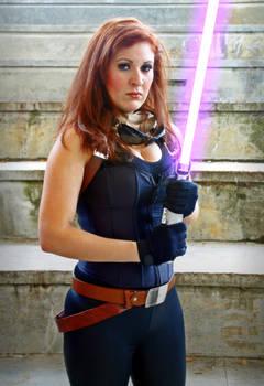 Mara Jade cosplay - Half body