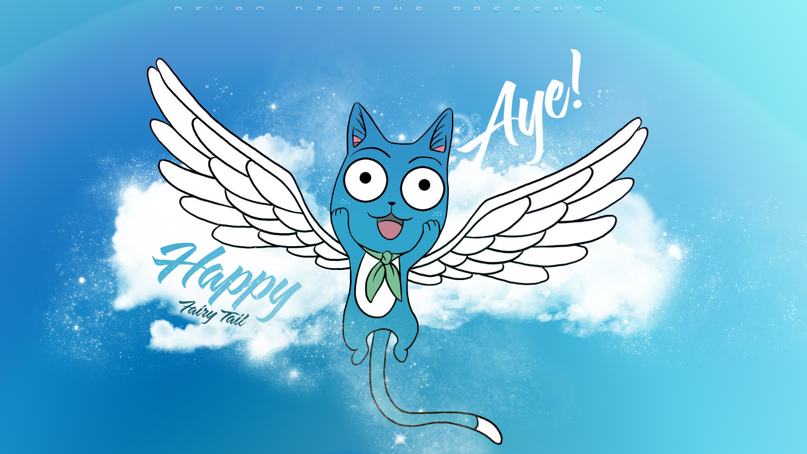 Fairy tail wallpaper happy aye