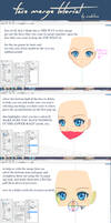 [mmd] face merge tutorial!!