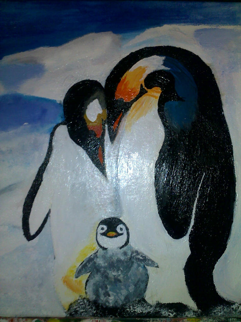 Penguin Paintings For Sale