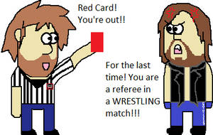 Dean the referee by firehea