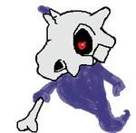 Ghost type Cubone