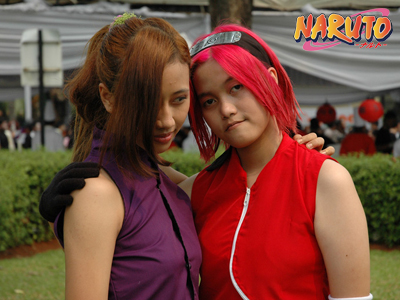 Naruto Shippuden: Ino x Sakura by narutimate