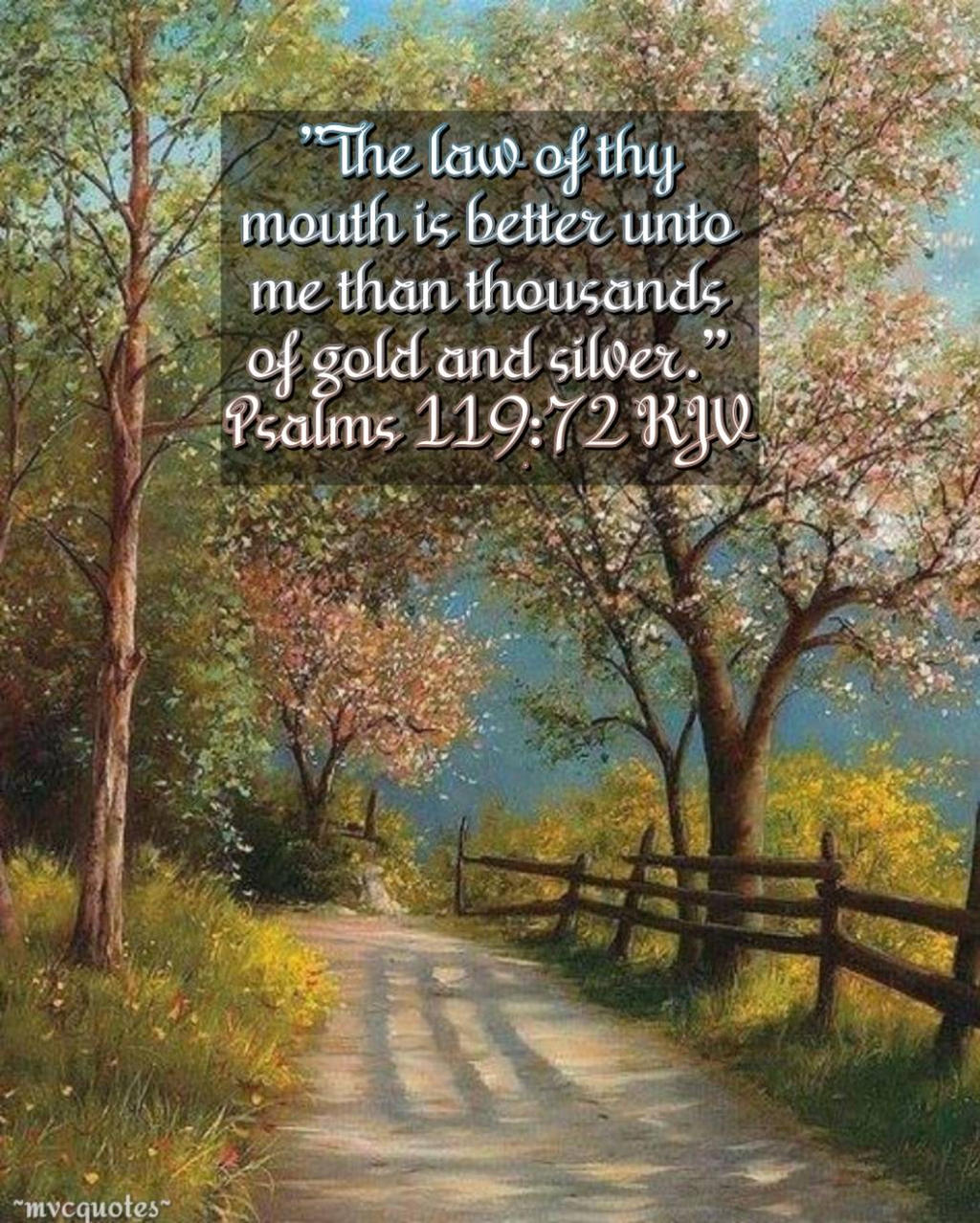 Psalms 119:72 by mvcquotes on DeviantArt