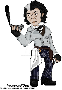 :Pagedoll: Sweeney Todd by CandyMintAndCoffe