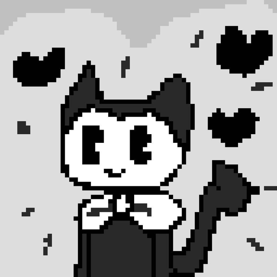 Bendy Pixel art by eonkid01074