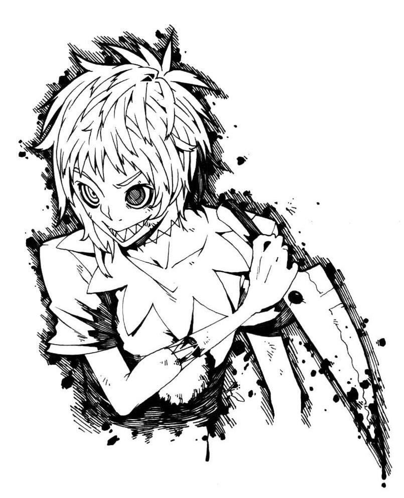 Anime Jester Characters : Jackal the clown by poch n on deviantart