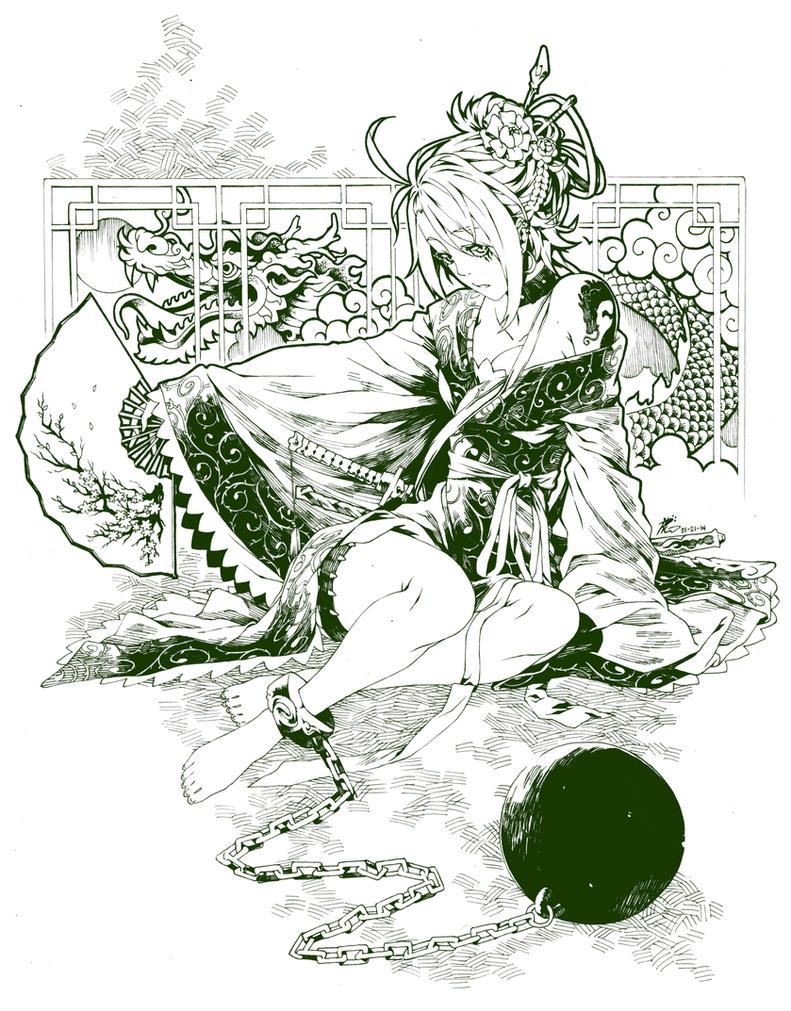 The Dragon's Den by Poch4N