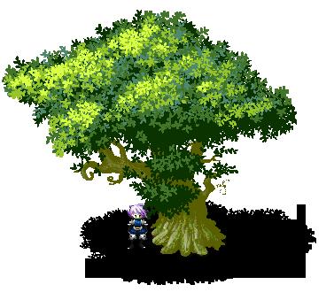 Pixel Tree by Poch4N