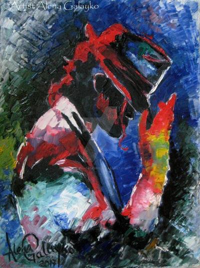 Michael Jackson by AlenaGalayko