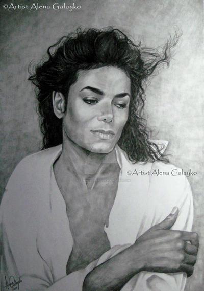 MJ Graphite series 1 by AlenaGalayko