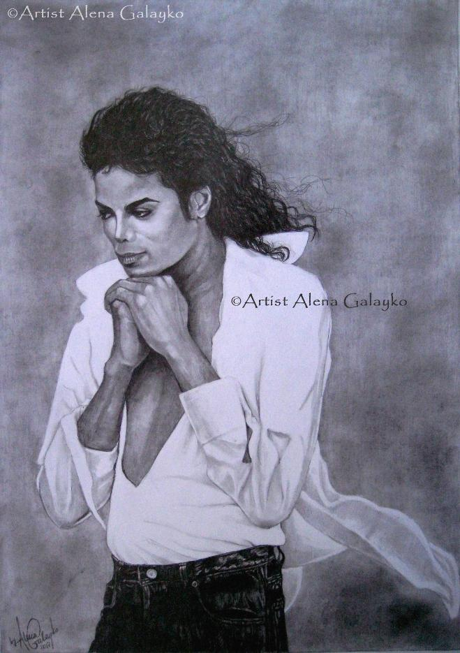 MJ Graphite series 3 by AlenaGalayko