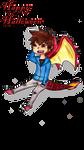 Dragon Osmel Halloween by XKoKuKiiX