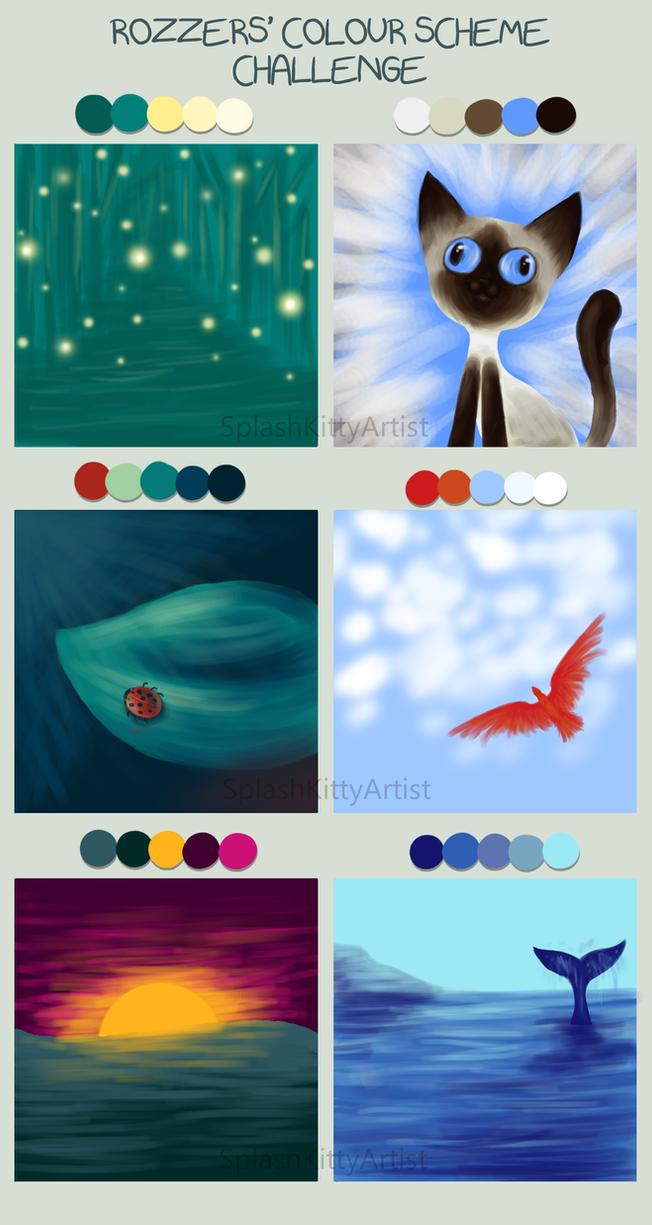 Color Scheme Challenge by pSarahdactyls