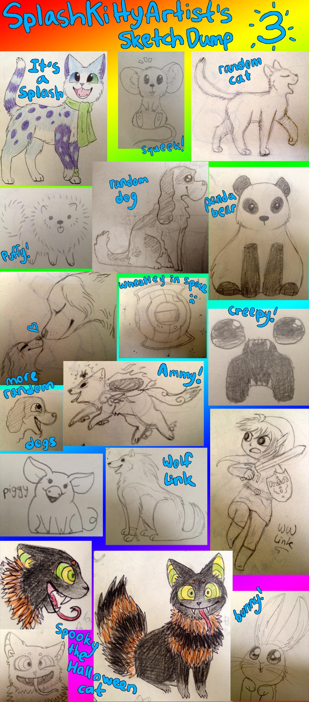 Sketchbook stuff by pSarahdactyls