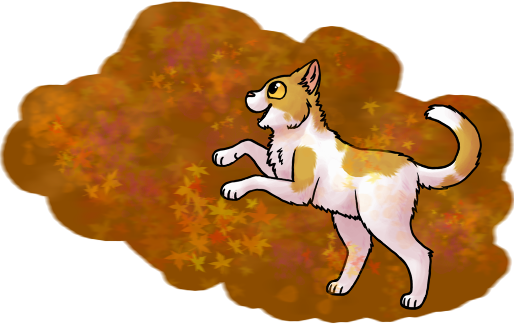 Fall Kitty by pSarahdactyls