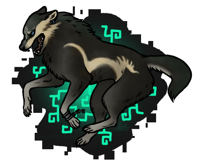 Wolf Link by pSarahdactyls