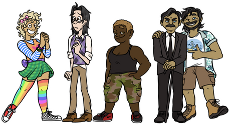 The Squad updated by pSarahdactyls