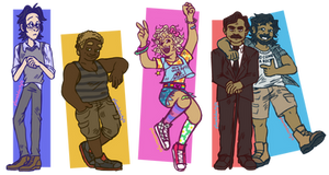 The Crew by pSarahdactyls