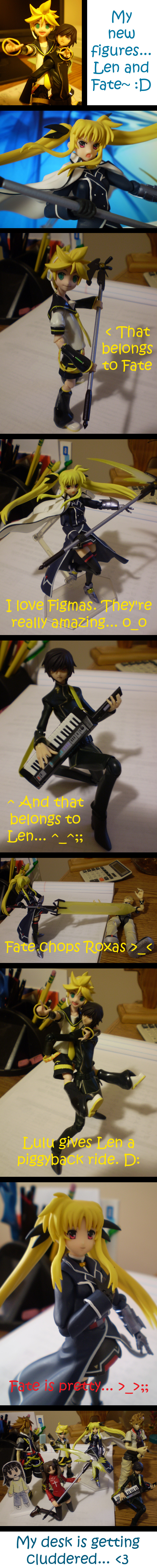 My Figures: Fate and Len by Pacthesis