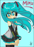 Miku MS Paint by Pacthesis
