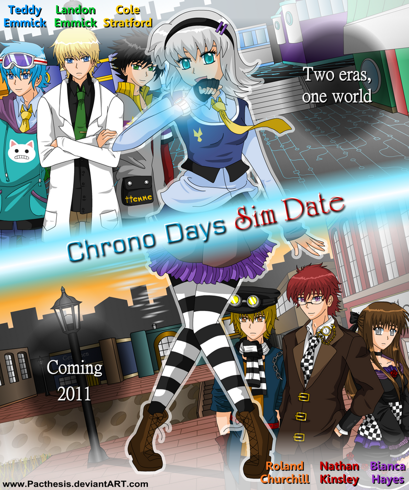 pacthesis chrono days cheat codes What are the cheats for chrono days sim date by pacthesischrono days sim date, by pacthesis cheats:what are the cheat codes on chrono days sim date pillshere (hp) fastforward (brings you to last day)chrono days sim date guide - pacthesis games a walkthrough and guide for chrono days sim date, chrono days sim date cheat codes.