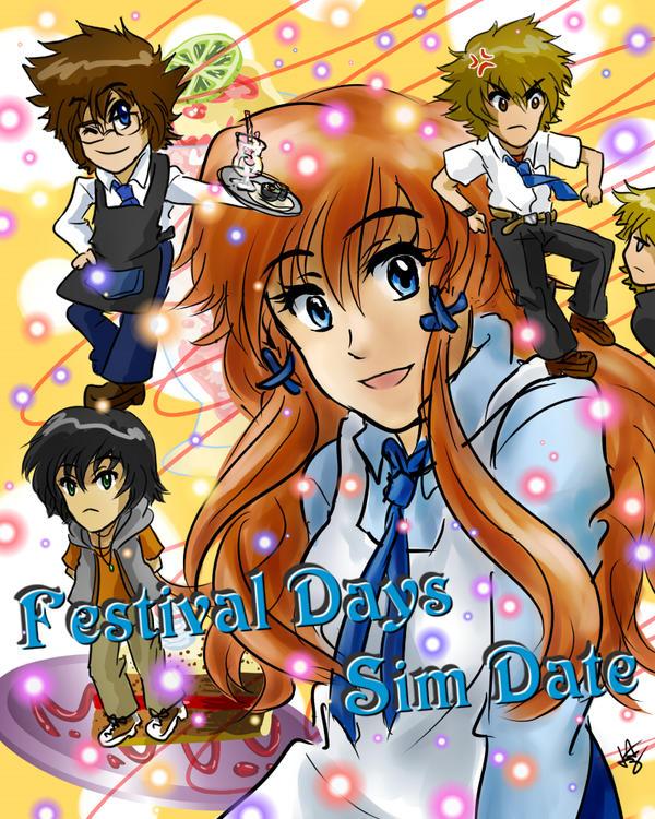 anime dating game deviantart for girls
