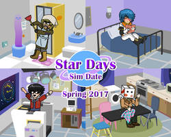 Star Days Sim Date promo 3 by Pacthesis