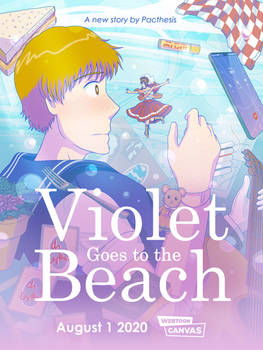 Violet Goes to the Beach - NEW SERIES REVEAL
