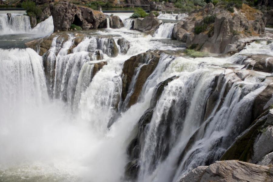 Idaho Waterfall by Deirdre-T