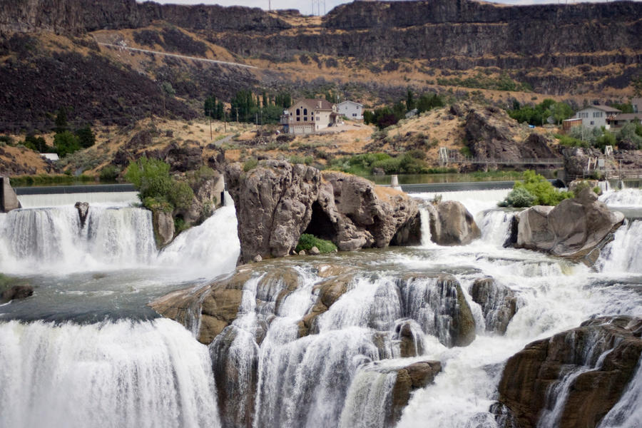 Idaho Waterfall 2 by Deirdre-T
