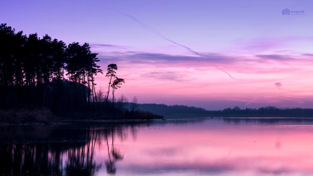 Purple Sunset by GregKmk