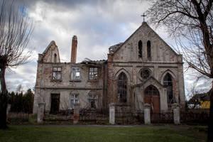 Forgotten church STOCK by GregKmk