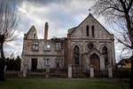 Forgotten church STOCK
