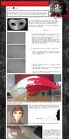 Heinoustuck Dave Strider Bird/Plague Mask Tutorial by Synonym-of-Antonym