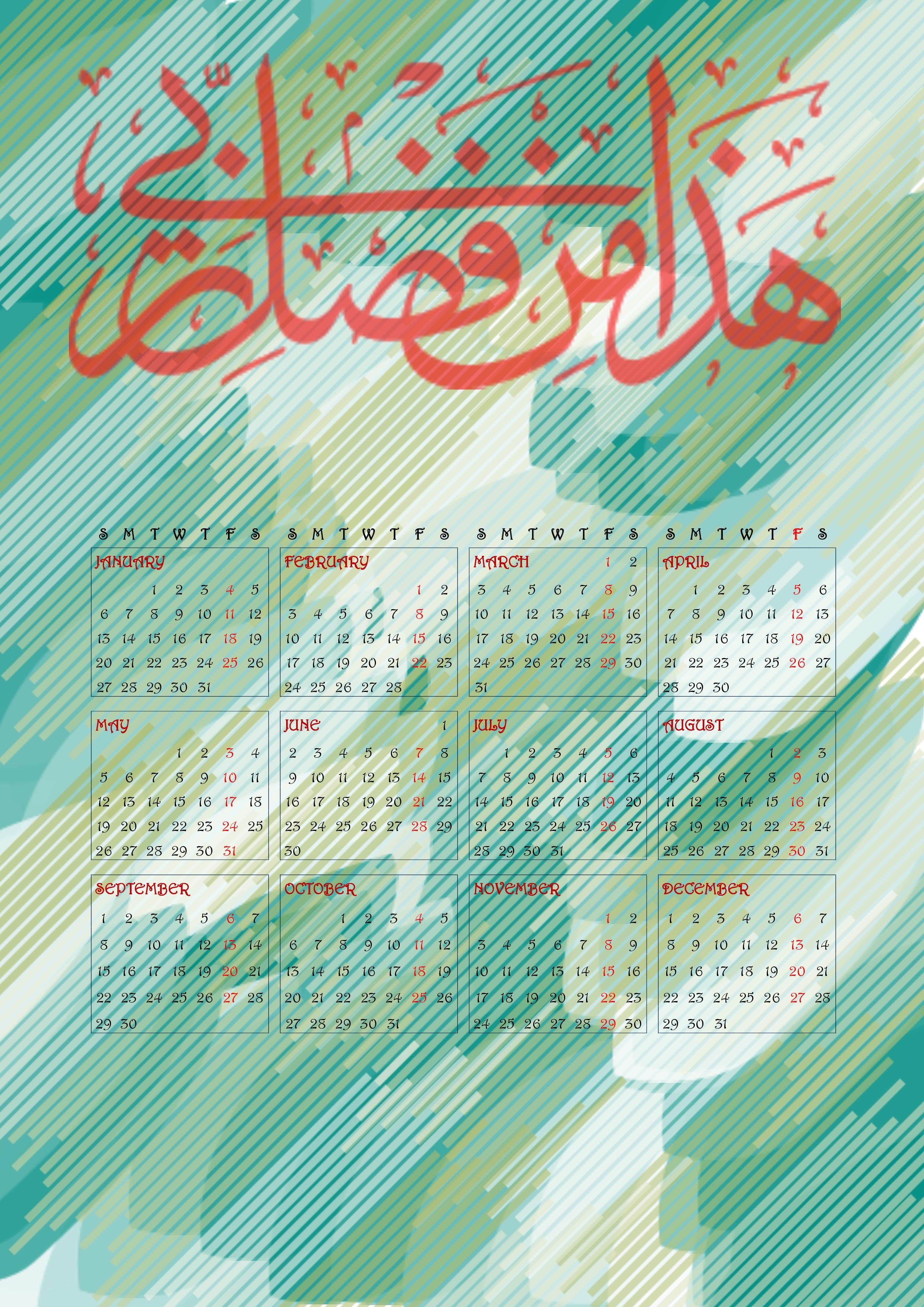 image of islamic calendar 2013 download six