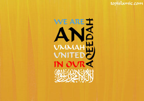 United Ummah in our Aqeedah