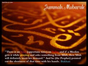 Special Hour on Friday Jummah
