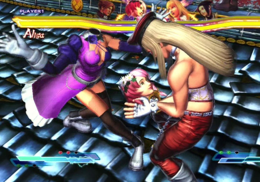 Street Fighter X Tekken Alisa Vs Lili by Themilkguy