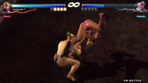 Tekken Tag 2 Jaycee (Julia Chang) vs Nina Williams