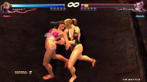 Tekken Tag 2 Jaycee (Julia Chang) vs Nina (2)