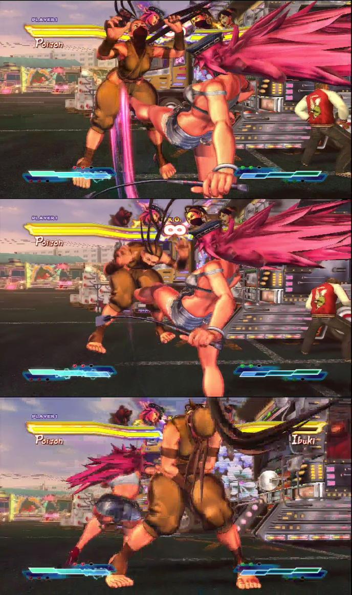 Street fighter vs tekken porn hentai clips
