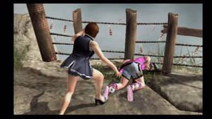 Tekken 5 Anna Williams vs Ling Xiaoyu (3)