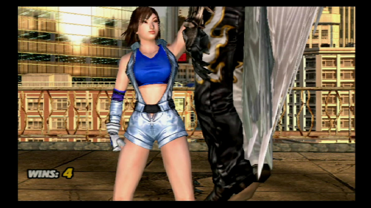 Tekken 5 Asuka Kazama vs Devil Jin. by Themilkguy