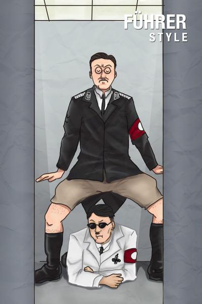 WW2: Le Fuhrer Nazi style by ShinjuMarkez