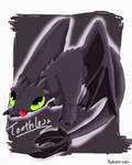 CE: Toothless by Nekoro-san