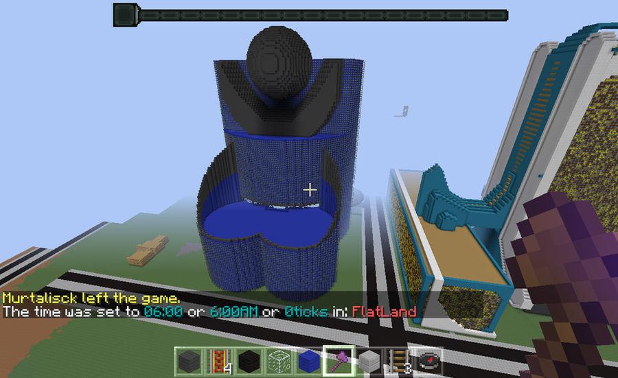 Minecraft world edit building by alonestar2004 on DeviantArt